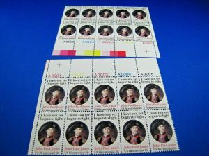 U.S. SCOTT # 1789a  -  PLATE BLOCKS of 10  -  LOT OF 2  MNH
