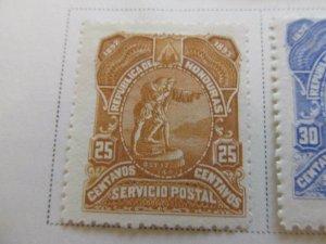 Honduras 1892 25c fine mng stamp A11P11F12