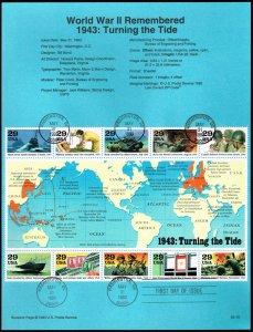 US #SP1044 (2765) World War II (5Stars)