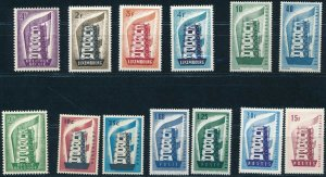 [1153] Europa 1956 the Complete Year good Lot very fine MNH Stamps