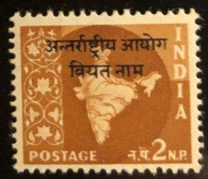 India International Commission in Laos Scott#6 VF Unused LH  Cat. $0.30