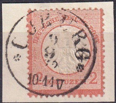 Germany #8 F-VF  Used  CV $165.00  (Z2846)