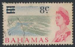 Bahamas  SG 278 SC# 235 Used  OPT Decimal Currency 1966