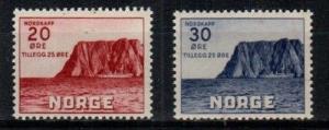 Norway Scott B9-10 Mint NH (Catalog Value $27.50)
