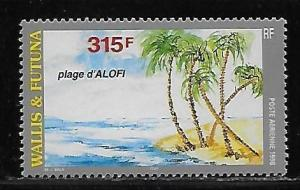 Wallis and Futuna Islands C201 Alofi Beach MNH