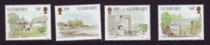 Guernsey Sc 342-5 1986 Museums stamp set NH