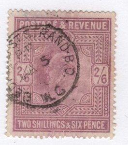 GB   KED V11   SG 261  2/6 Dull purple