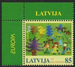 Latvia 2006 Europa MNH