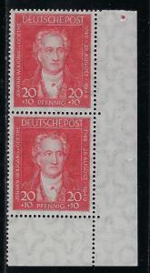 Germany AM Post Scott # B307, mint nh, pair