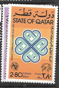QATAR (P1102B) SG 753-4  MNH