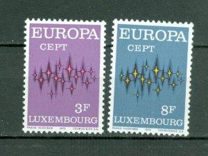 LUXEMBOURG 1972 EUROPA #512-513...SET...MNH..$1.00