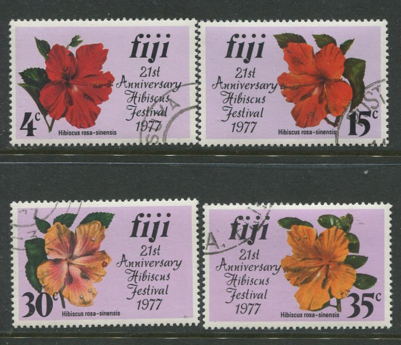 Fiji - Scott 376-379  - General Issue 1977- VFU - Set of 4 Stamps