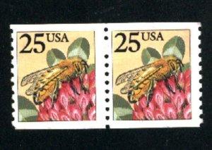 USA #2281   Pair U   1987-88 PD