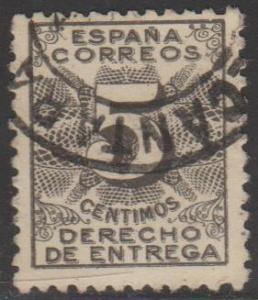 Spain Sc#ER1 Used