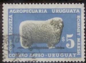 Uruguay 1967 SC#C306 Used L394