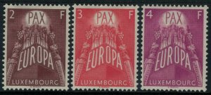 Luxembourg #329-31* CV $30.00 Europa postage stamp set