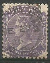 SOUTH AUSTRALIA, 1899, used 2p Queen Victoria, Scott 116