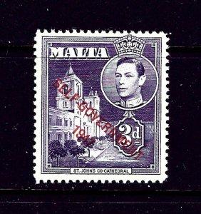Malta 239 MNH 1953 overprint