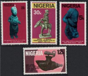 Nigeria Antiquities 4v SG#388-391