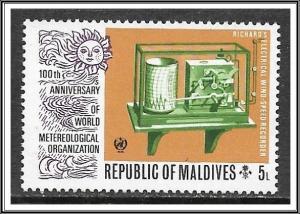 Maldive Islands #468 Wind Speed Recorder MNH