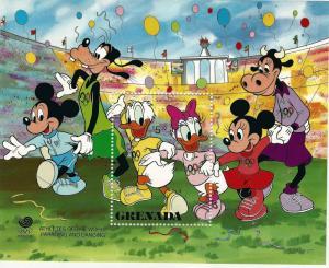 Grenada Disney Olympic Closing Ceremony SS  MNH SC#1591...Topical bargain!