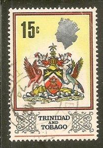 Trinidad & Tobago   Scott 151   Arms   Used