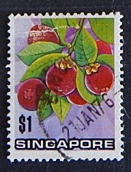 Singapore, Fruits, (№1570-Т)