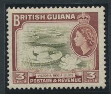 British Guiana SG 333 Mint Light Hinge  (Sc# 255 see details)