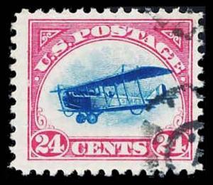 U.S. AIRMAIL C3  Used (ID # 84352)