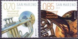 San Marino. 2014. Europe. MNH.