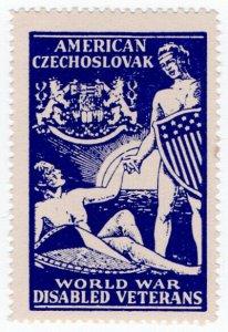 (I.B) US (Great War) Cinderella : Czechoslovak War Veterans Fund