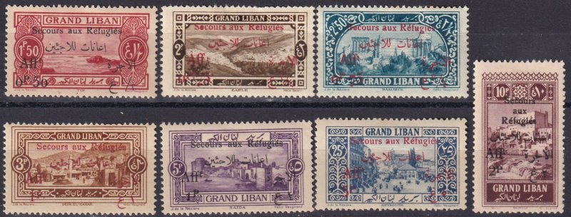 Lebanon #B6-12  Unused CV $37.50  (Z3776)