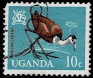 Uganda 1965 Birds Used