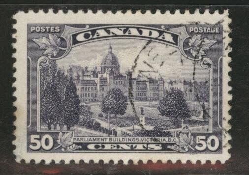 CANADA Scott 226 used 1935 50c stamp CV$6