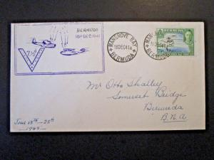 Bermuda 1941 7.5d First Day Cover - Z5089