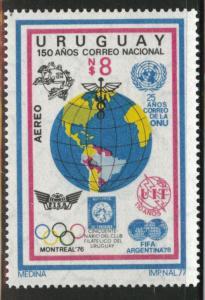 Uruguay Scott c428 MNH** 1977  airmail