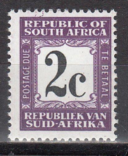 South Africa Scott J68a Mint NH (Catalog Value $25.00)