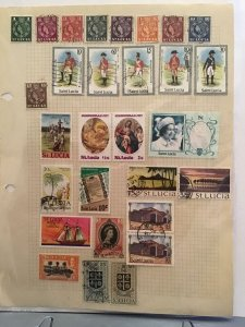 St Lucia   stamp  page R23504