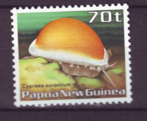 J21855 Jlstamp 1986 png hv of set mnh #639 conch shell