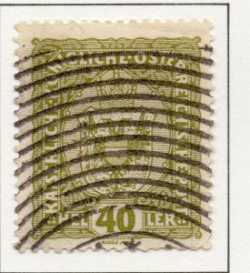 Austria 1916 Early Issue Fine Used 40h. NW-38045