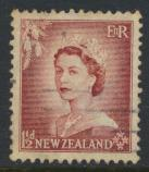 New Zealand SG 725 SC# 290 Used  see details 1953 QE II  Definitive Issue