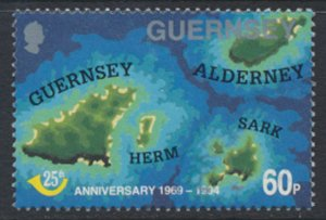 GB Guernsey Channel Islands  SG 649 UsePostal Admin 1994 SC# 540 See scan