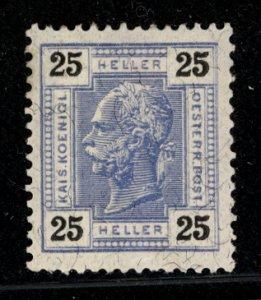 Austria 1905  Scott #99 MH