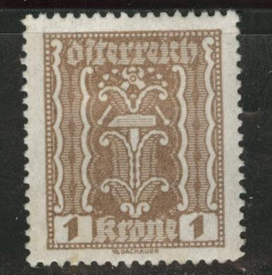 Austria Scott 251 MH* stamp from 1922-24 set
