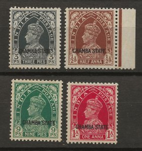 India Chamba 70-73 MLH VF 1938 SCV $31.00 (jr)