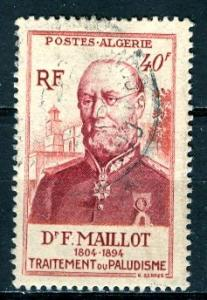 Algeria; 1954: Sc. # 251: O/Used Single Stamp
