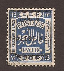 57 - Overprint on Type of 1921