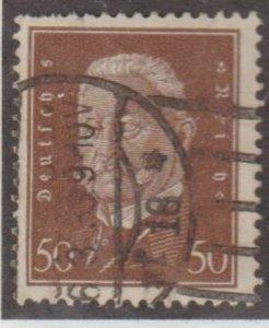 Germany Scott #381 Stamp - Used Single
