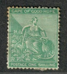 Cape Of Good Hope Sc#19 M/H/VF, Toned At Top, Cv. $225