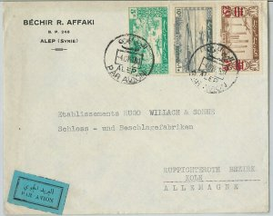 58979 - SYRIA  - POSTAL HISTORY:  AIRMAIL COVER to GERMANY 1950